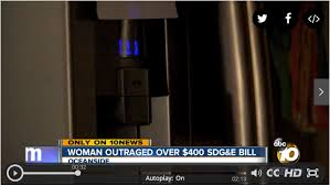 outraged by high electric delivery charges on sdg e bill