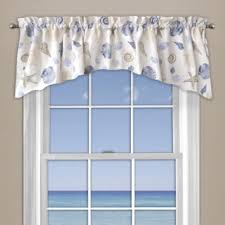 buy blue coral valance from bed bath beyond