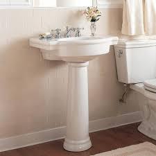 small bathroom sinksbathroom sinks retrospect inch pedestal sink