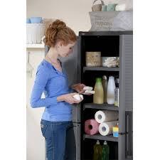 Sterilite 4 Drawer Cabinet Walmart by Sterilite 4 Shelf Storage Cabinet With 3 Drawer Unit Value Bundle