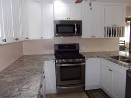 Kitchen Tile Backsplash Ideas With Dark Cabinets by Granite Countertop Cup Pulls For Kitchen Cabinets Dark Cabinets
