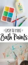 Bathtub Fingerpaint Soap Recipe by Diy Bath Paints Bath Paint Diy Baths And Bath