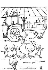 Full Image For Farm Animal Coloring Pages Free Pig Duck And Duckling Page