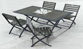 table et chaise pliante table pliante rectangulaire cytadine 4