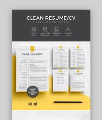 29+ Best Contemporary (New Styles) Resume CV Templates (For ...