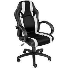 si鑒e ergonomique voiture chaise de bureau fauteuil siège racing sport tissu voiture