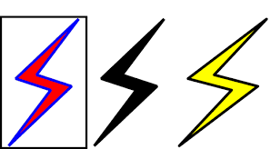 Test Setlengthfboxsep Setlengthfboxrule1pt Begin FboxLightningfillred Drawblue Lightning Lightningfillyellow