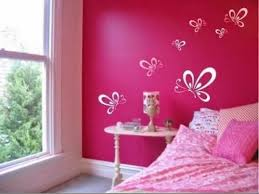 Simple Wall Painting Designs For Bedroom Home Design Very Nice