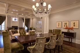 Interiors Elegant Dining Room