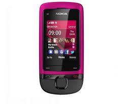 New Unlocked Nokia C Series C2 05 C205 GSM Slider Cell Phone Pink&Blue&Black