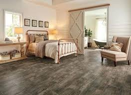 Rustic Vinyl Plank Flooring Bedroom With Wood Look Specialty