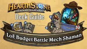 Murloc Deck Shaman Or Warlock by Shaman Deck Building Hearthstone 2p Com