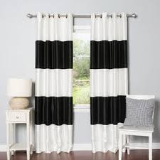 Thermal Curtain Liner Grommet by Modern Blackout Curtains Drapes Allmodern