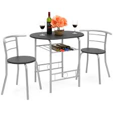 Best Choice Products 3-Piece Wooden Kitchen Dining Room Round Table And  Chairs Set W/ Built In Wine Rack (Black) Sonoma Road Round Table With 4 Chairs Treviso 150cm Blake 3pc Dinette Set W By Sunset Trading Co At Rotmans C1854d X Chairs Lifestyle Fniture Fair North Carolina Brera Round Ding Table How To Find The Right Modern For Your Sistus Royaloak Coco Ding With Walnut Contempo Enka Budge Neverwet Hillside Medium Black And Tan Combo Cover C1860p Industrial Sam Levitz Bermex Pedestal Arch Weathered Oak Six