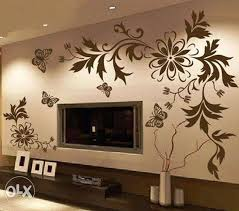 Perfect Simple Wall Painting Designs For Living Room 48 On Home