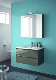allibert badmöbel set badmöbel vormontiert grau spiegelschrank waschtisch 80 cm