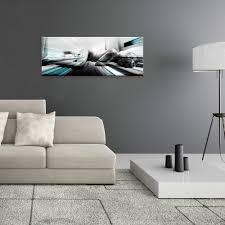 glasbild 80x30cm wohnzimmer abstrakt akt frau