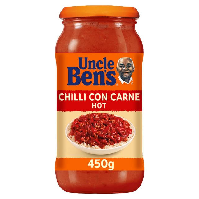 Uncle Ben's Chilli Con Carne Sauce - Hot, 450g
