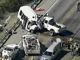 100 Church Truck 13 Members Killed In Collision Between Bus Pickup In