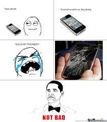 Not Bad When Iphone Broken by killerspider Meme Center
