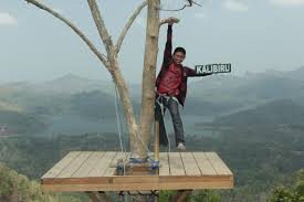 Tourist Attractions In Yogyakarta To Six No Less Interesting Visit There The Mountains Manoreh Kulon Progo District Here Kalibiru Villages