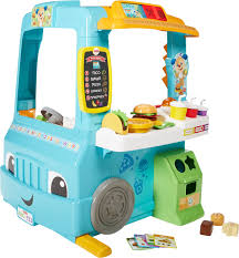 Fisher-Price Laugh & Learn Servin' Up Fun Food Truck Multi DYM74 ...
