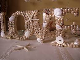 Rustic Beach Wedding Reception Centerpieces