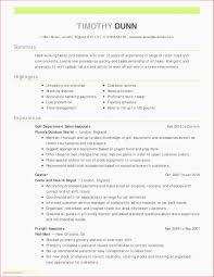Retail Resumes Sample New Retail Resume Skills Resume Sample ...