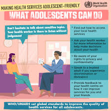 Making Health Services Adolescentfriendly What Adolescents Can Do