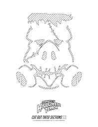 Nintendo Pumpkin Stencils by Halloween Stencils