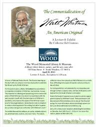 Walt Whitman The Wound Dresser by Collections