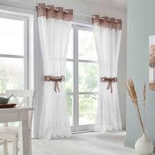gardine villars my home ösen 2 stück vorhang fertiggardine inkl 2 raffhalter transparent