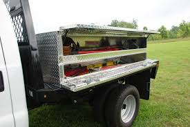 BRUTE High Capacity Flat Bed Top Side Tool Boxes | | 4 Truck Accessories