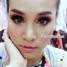 Kwanusa Brown Sweety Plus Colored Contact Lens Sweetyplus Contact