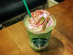 Drawn Starbucks Green Tea Frappuccino
