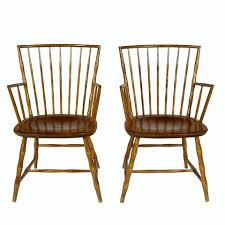 Nichols And Stone Windsor Armchair by Nichols U0026 Stone Bamboo Style Armchairs Pair U2013 2bmodern