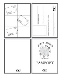 Passport Template 19 Free Word PDF PSD Illustrator Format Download