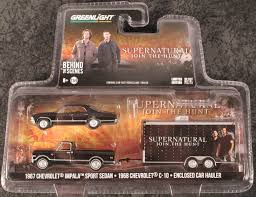 Greenlight Collectibles - Supernatural Chevy Impala With Pick-up ... Farm Toys For Fun A Dealer Sleich Pickup With Driver Lifetime Toy Company Pickup Truck And Cattle Trailer Best Resource 120 Pick Up And Fishing Boat Set Walmartcom 116th Ertl Big Case Ih Ram Quad Gooseneck Flatbed Wooden Peterbilt Youtube Pertaing To Country Life Newray Ca Inc Suburban Guy A Lift Kit On His Pickup Truck Starter Pack Plans Ertl My Ertl Trucks Youtube John Deere Monster Treads Hauler Horse At