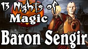 Mtg Deathtouch Ping Deck by Mtg Lore Baron Sengir Halloween Special Youtube