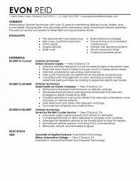 Sample Resumes For Automotive Technician Bunch Ideas Of Resume Objectives Maintenance Mechanic Stunning Sel Generator Ministry Template Alternative Then