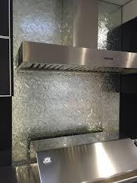 Textured Glass Splashback Modern Exterior