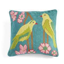 maracaibo parrots pillow cover pillows