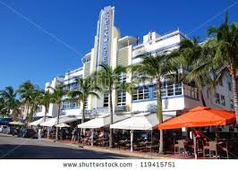 miami south deco miami south florida usa october stock photo 119415751