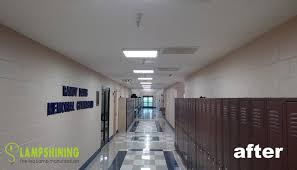 40w led panel light for usa school hallway lighting replace t12
