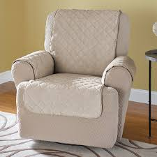 wing chair recliner slipcovers sure fit stretch plush black wing chair slipcover sure fit
