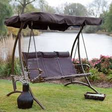 Patio Swings With Canopy Home Depot by Patio 3 Person Patio Swing With Canopy Pythonet Home Furniture