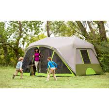 Coleman Tent Floor Saver ozark trail 9 person 2 room instant cabin tent with screen room