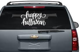 100 Custom Stickers For Trucks Happy Halloween Vinyl Car Decal Print Picture Etsy