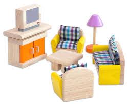 plantoys puppenhausmöbel neo wohnzimmer