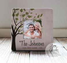 Our First Home Picture Frame Couple Gift Idea Housewarming